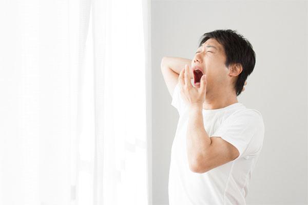 40代で朝起きれない場合は精力不足による更年期障害